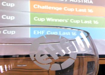 Sorteio 1/8 final EHF