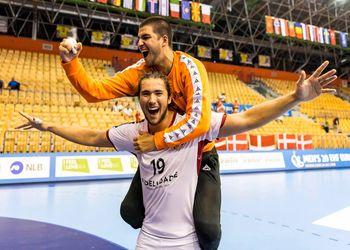 Espanha : Portugal - Europeu Sub20 Masculinos - foto: EHF / Jurij Kodrun Sports Photography