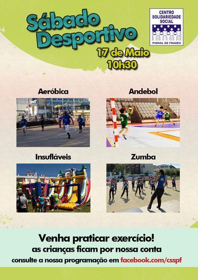 Cartaz Sábado Desportivo – Pinhal de Frades