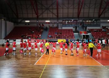 Mens EHF Cup - Dinamo Pancevo : SL Benfica - 1ª Eliminatória (2ª mão) (1)