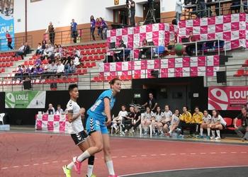 Cláudia Aguiar (Madeira SAD) no jogo Madeira-Maiastars