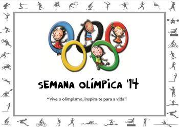 Logo Semana Olímpica 2014