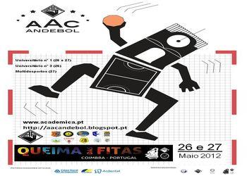 Cartaz Torneio Queima das Fitas 2012