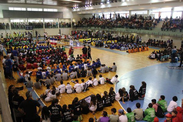 Cerimónia de encerramento do Encontro Nacional de Minis Femininos e Masculinos 2014