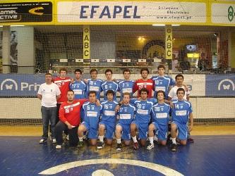 AC Sismaria - Fase Final Campeonato Nacional Juvenis Masculinos 1ª Divisão