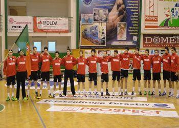 Selecção Nacional Sub20 masculinos - apuramento na Eslováquia