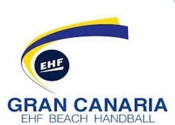 Logo Taça dos Campeões Europeus Andebol de Praia