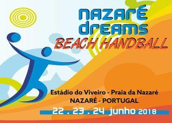 Cartaz Torneio Nazaré Dreams - 22, 23 e 24 de Junho 2018