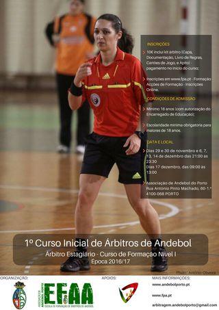AA Porto - Curso de Arbitragem - Nível 1