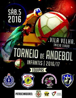 Torneio de Andebol infantis masculinos Vila Velha do Rodão