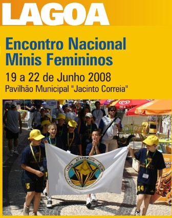 Cartaz Encontro Nacional Minis Femininos