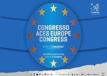 Logo Congresso ACES Europe em Guimarães