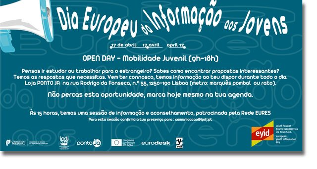 17 de Abril - Dia Europeu da Informação aos Jovens