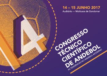 Cartaz 14º Congresso Técnico Científico Andebol