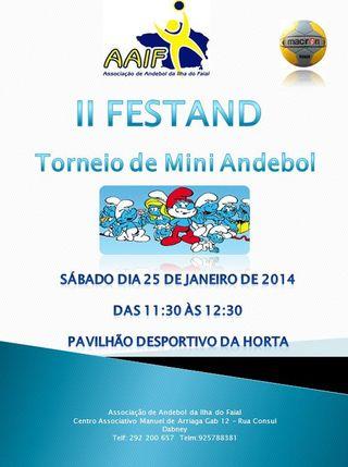 Cartaz II Festand - AAIF