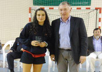 Dr. Ulisses Pereira - cerimónia de encerramento Maia Handball Cup 2013