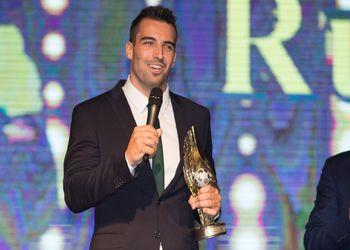 Carlos Ruesga - Prémio Melhor Jogador
