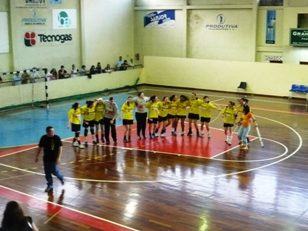 Colégio Gaia - Campeão do Campeonato Nacional Juniores Femininos