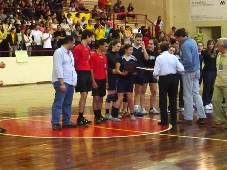 Entrega de Prémios - Campeonato Nacional Juniores Femininos