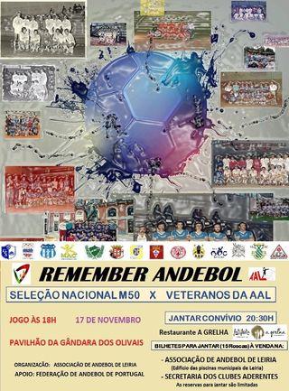Cartaz Projecto Remember Andebol
