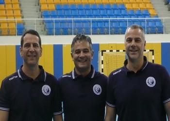 Luis Monteiro, Rolando Freitas e Carlos Ferreira - Torneio do Qatar 2012