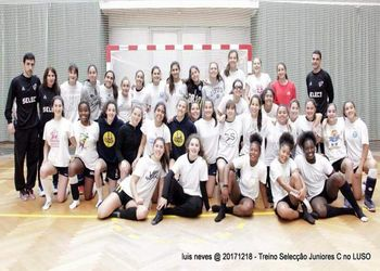 Seleção Nacional de Juniores C Femininas - foto: Luís Neves