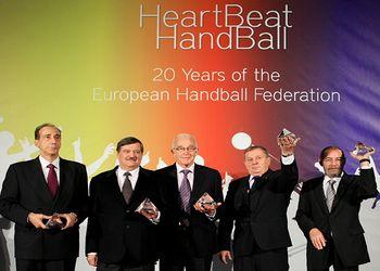 Rui Coelho agraciado com o EHF Handball Award
