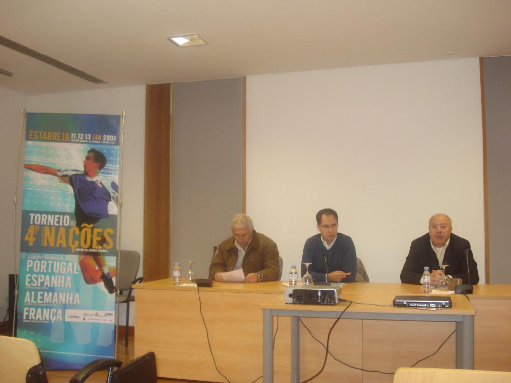Conferência de Imprensa Torneio 4 Nações - 02.01.2008 2