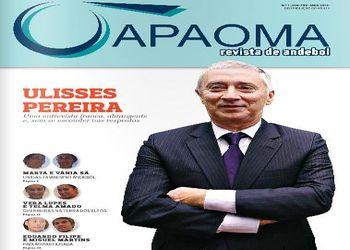 Capa da primeira edição da revista digital da APAOMA