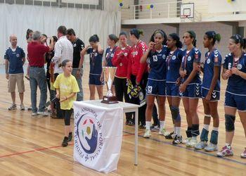 CDES Gil Eanes - Campeão Nacional Seniores Femininos 2010/2011