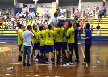 Xico Andebol - campeão nacional 2.ª divisão (M) - 2013-14