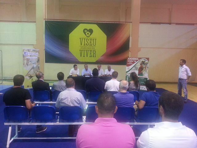 Apresentação XVIII Torneio Internacional de Andebol de Viseu - 2016