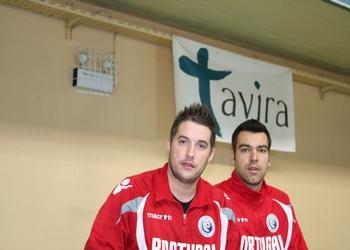 Hugo Figueira e David Tavares - Estágio TAvira