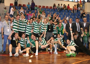Sporting CP campeão nacional Next 21 - Mangualde 2012
