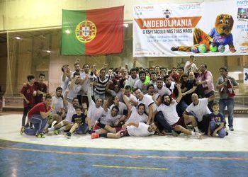 CD S. Bernardo - campeão nacional 2ª Divisão Seniores Masculinos
