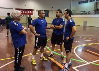 Seleção Nacional - Staff técnico e médico - estágio em VN Gaia 1