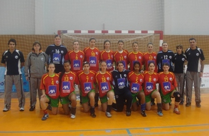 Selecção Nacional Junior A feminina 2007/08