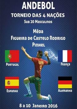 Cartaz  Torneio das Quatro Nações 2016