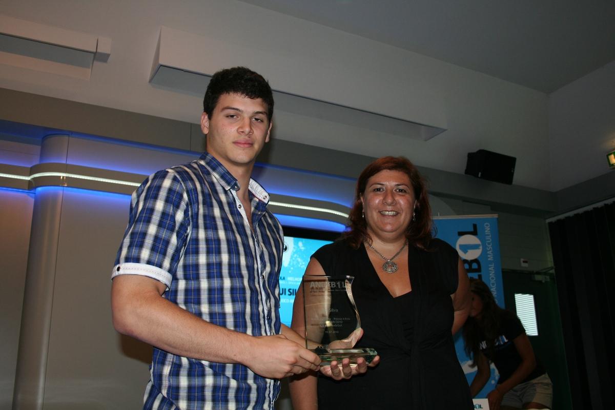 Rui Silva recebe troféu Melhor Marcador