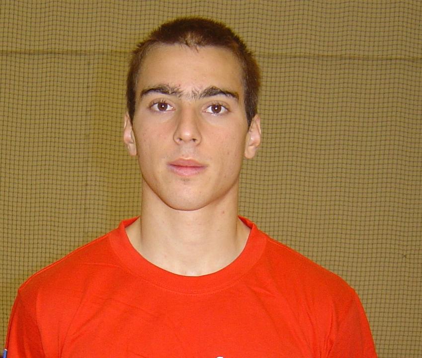 Pedro Seabra - Prémio de Melhor Jogador e Melhor Central (Sete Ideal) do European Open Sub19 Masculinos