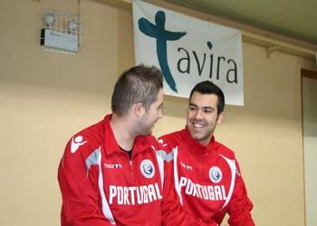 Hugo Figueira e David Tavares - Estágio seleção - Tavira 2012