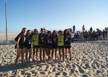 Z´Imbora - 2º Lugar Masters Femininos - Fase Final do Circuito de Andebol de Praia 2011