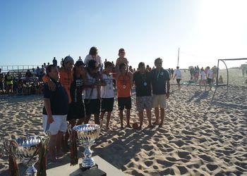 Espinho Andebol Praia - 2º Lugar Rookies Masculinos - Fase Final do Circuito de Andebol de Praia 2011