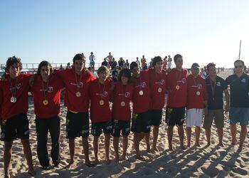 Ah Pois - 1º Lugar Rookies Masculinos - Fase Final do Circuito de Andebol de Praia 2011