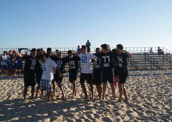 Os Gordos - 1º Lugar Masters Masculinos - Fase Final do Circuito de Andebol de Praia 2011