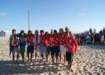 PIVV - 3º Lugar Rookies Masculinos - Fase Final do Circuito de Andebol de Praia 2011