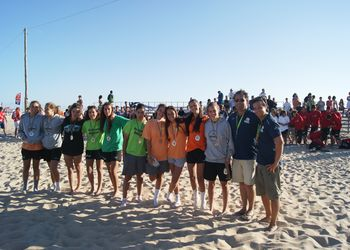 As Gostosonas - 2º Lugar Rookies Femininos - Fase Final do Circuito de Andebol de Praia 2011