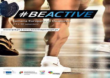 Cartaz Semana Europeia do Desporto 2017