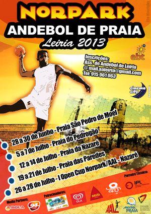 Circuito Regional Andebol Praia, Leiria/Norpark 2013