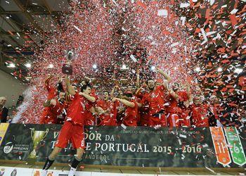SL Benfica vencedor da Taça de Portugal Fidelidade Seniores Masculinos 2015/16 - foto: Pedro Alves/ PhotoReport.In